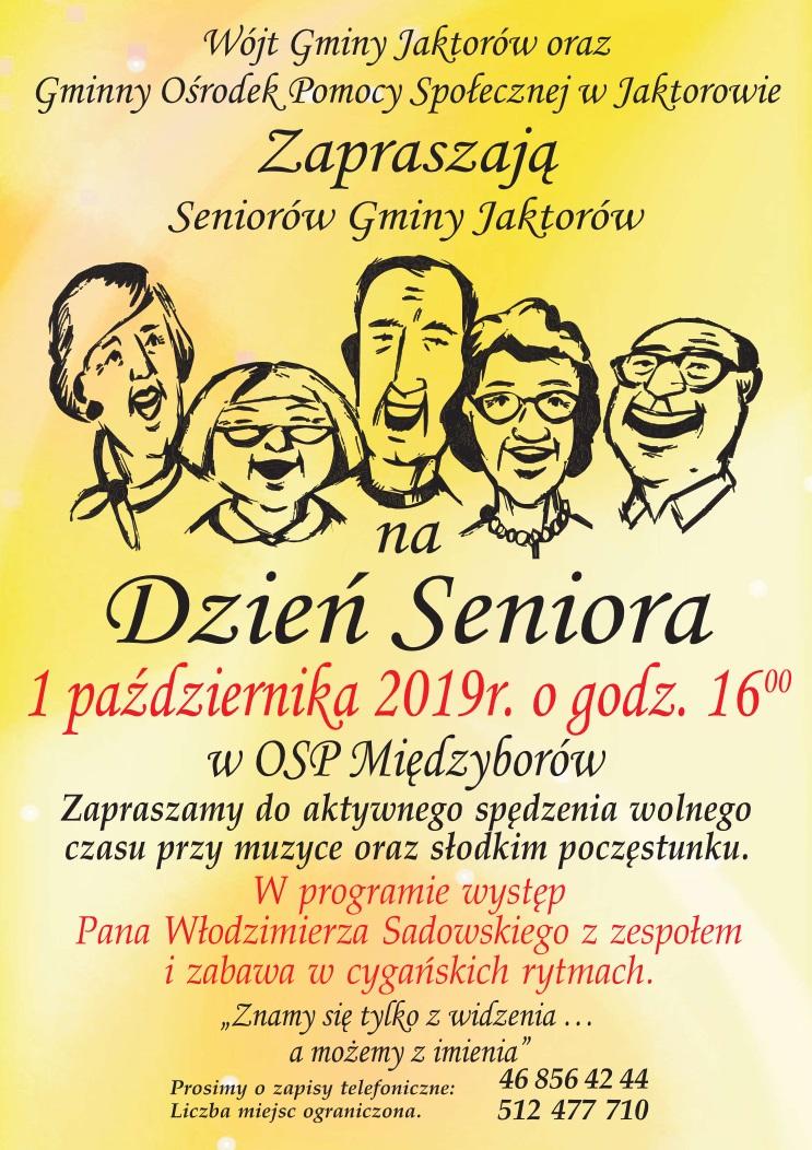 Zapraszamy na Dzień Seniora