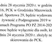 Informacja PO-PŻ 2014-2020